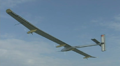 SolarImpulse Aircraft Inflight