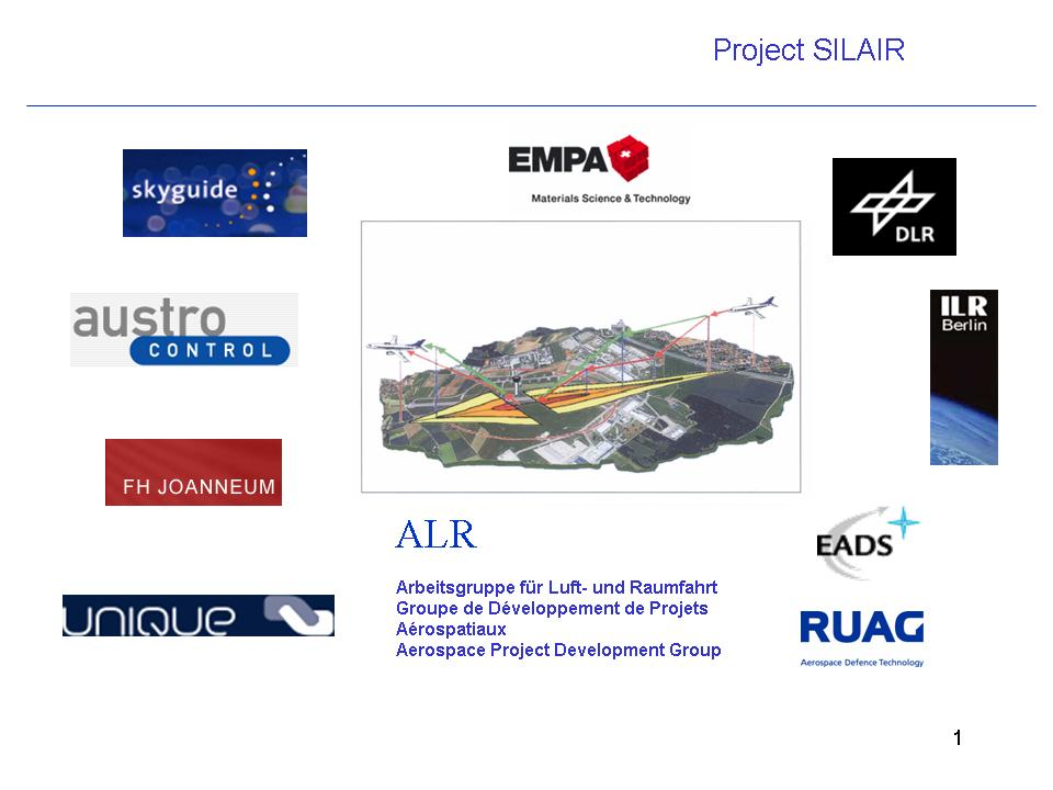 SILAIR, Silent Airport EU FP 6 Proposal